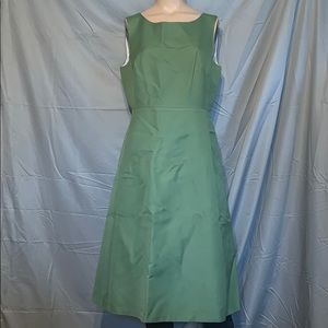 EUC J Crew Green Dress